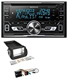 caraudio24 Kenwood DPX-5100BT Aux CD 2DIN MP3 Bluetooth USB Autoradio für Citroen Nemo Peugot Bipper