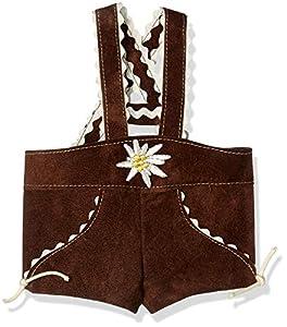 Sturm 8882-T30 - Pantalón de Piel con Tirantes para muñecas, Color marrón
