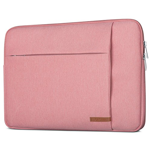 CASEZA Laptophülle 13-13.3 Zoll Pink London Laptop Sleeve Laptoptasche Hülle für MacBook Air 13