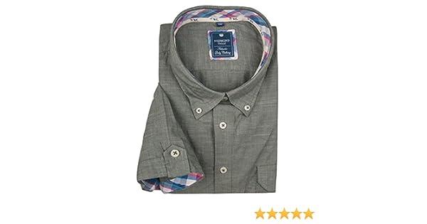 Redmond Body Cut Bügelfreies Herren Kurzarm Hemd in verschiedenen Mustern (71720990)