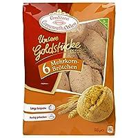 Mehrkorn-Brötchen Unsere Goldstücke Coppenrath & Wiese Aufbackbrötchen, 6 Stück, 300 Gramm, tiefgefroren