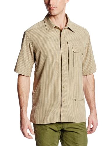 propper-men-s-independent-button-up-shirt-uomo-khaki-plaid-xl