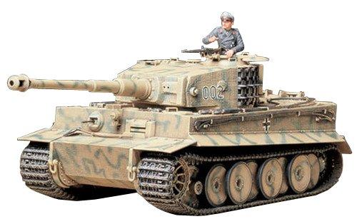 TAMIYA 300035194 - 1:35 WWII Sonderkraftfahrzeug 181 Tiger I Mid Production (1) (Tiger 1 Tamiya 35)