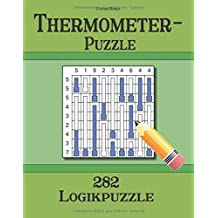 Thermometer-Puzzle 282 Logikpuzzle