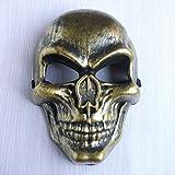 Damjic Máscara De Halloween. El Campo Máscara Máscara De Cara Completa De Miedo Un