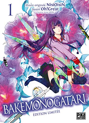 Bakemonogatari T01 Edition limitée par  NisiOisiN