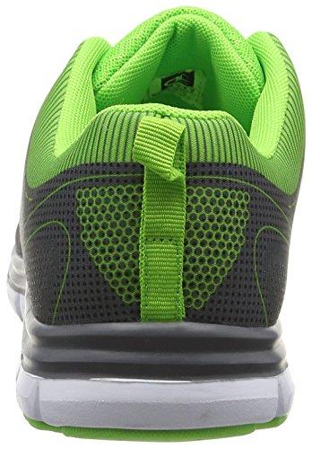 Champion Low Cut Shoe Pax Herren Laufschuhe Grau (Grey Melange/Green Flash 172)