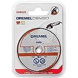 Dremel S520 Lot de 2 disques de découpe maçonnerie pour DSM20 77 mm