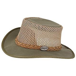 Bushman Sommer Hut AIRHEAD Safari-Hut Outdoor-Hut Sonnenhut Sonnenschutz-Hut atmungsaktiv in Olive/L