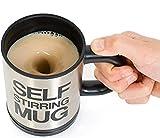 Primi créatif Auto Mélange Café Tasse à thé Mug–auto-mélangeuse Noir * 1