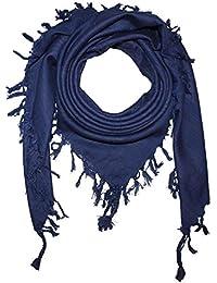 Superfreak® Palituch einfarbig uni°PLO Schal°100x100 cm°Pali Palästinenser Arafat Tuch°100% Baumwolle – alle Farben!!!