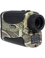 Boblov Eyoyo AF1000L Télémètre Golf Chasse 1000 Yards Grossissement 6X Étanche (Camouflage)