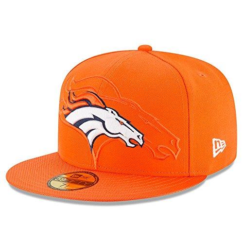 New Era Nfl Sideline 59Fifty Denbro Otc - Cappello Linea Denver Broncos da Uomo, colore Arancione, taglia 7 0/0