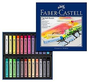Faber-Castell 128324 Goldfaber Studio - Tizas de pastel (24 colores)