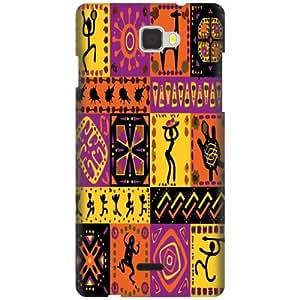 Coolpad Dazen 1 Hard Plastic Back Cover - Multicolor Designer Cases Cover By Printland
