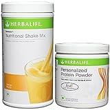 Herbalife Formula 1 Nutritional Shake Mix - 500G (Mango) With Personalized Protein Powder - 200G