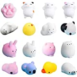 Mixed Mini Souple Animaux Lot de Mochi Squeeze Mignons LEEHUR Nouvels 20 Pcs Squishy Toys Kawaii Squishy Jouet Anti Stress Squishies