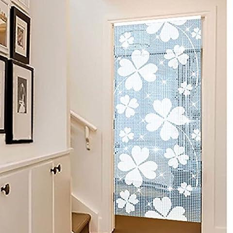 FOKN Crystal Curtain Beaded Bead Curtain Curtain Creative Pattern Curtain,OneColor-80*180cm
