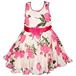 Your Little angel will look classy when you dress her up in this frock dress from Wish Karo. It Is Non Pricky and The frock dress is has lining for comfort and durability. This dress is ideal for your little angel's cherished birthday or other celebr...
