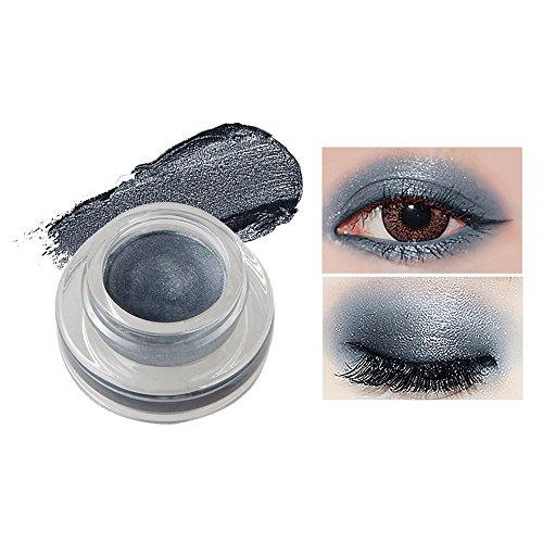Fards à paupières gel,15 couleurs Imperméable à l'eau eyeliner gel eye liner-Lonshell (04#)