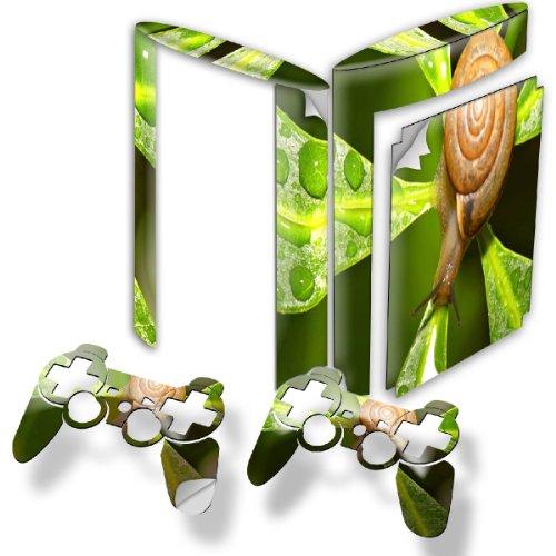 schnecke-designfolie-sticker-skin-aufkleber-schutzfolie-mit-farbenfrohem-design-fur-playstation-3-su