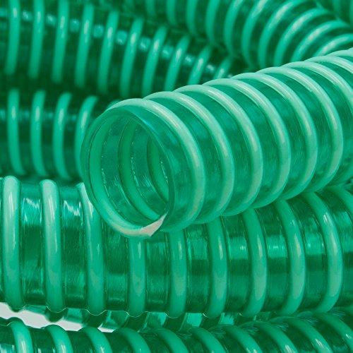 10 m PVC-DRUCKSCHLAUCH MIT GEWEBEEINLAGE Gr 10mm X 3mm
