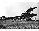 Photographic Print of Handley Page 0-400 about to depart