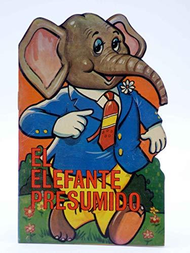 CUENTO TROQUELADO PEQUEÑO ZOO 103. El Elefante Presumido. Toray. El Elefante Presumido