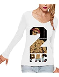 2 PAC THUG LIFE Women's CLAIRE Long Sleeve T-Shirt