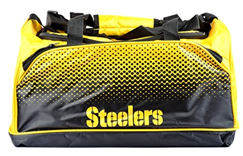 NFL FADE SMALL HOLDALL BAG Pittsburgh Steelers