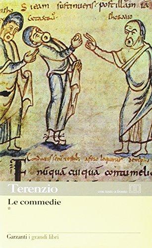 Le commedie. testo latino a fronte. per il liceo classico