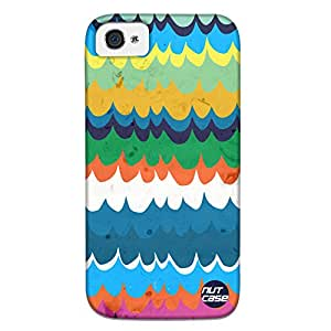 Colorful Waves - Nutcase Designer iPhone 4s Case Cover