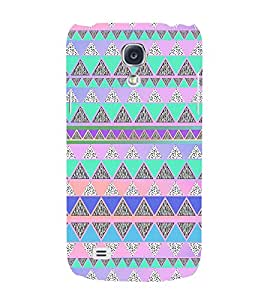 Hill Shape Pattern 3D Hard Polycarbonate Designer Back Case Cover for Samsung Galaxy S4 Mini i9190
