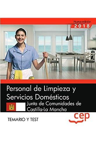 Personal de Limpieza y Servicios Domésticos. Junta de Comunidades de Castilla
