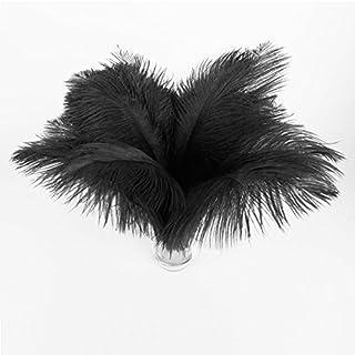 Lot de 20. Bouquet Ressort Ressort 25–30cm Noir Mariage Party Lave-vaisselle Costume Décoration