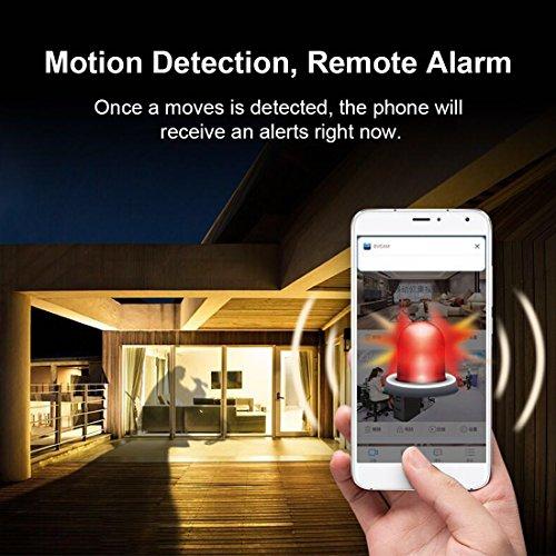 Mini Microcamere Spia AOBO 1080P HD Bottone Nascosta Telecamera WiFi IP Wireless Rilevamento di Movimento Portatile Videocamera di Sorveglianza Video Registrazione in Loop per iPhone Android - 7