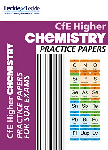 CfE Higher Chemistry Practice Papers for SQA Exams (Practice Papers for SQA Exams) (English Edition)