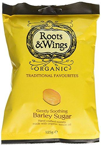 Roots & Wings Orge Biologique 125G De Sucre - Paquet de 6