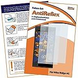 2x mumbi Displayschutzfolie für Wiko RIDGE 4G Schutzfolie AntiReflex matt (passt NICHT mit Ridge Fab)