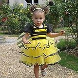 Mädchen Kleinkinder Bumble Bee Kostüm 18-24 Monate