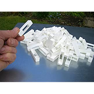 50 Wide beehive plastic frame ends / spacers 14