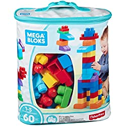 Mega Brands - First Builders de 60 piezas con bolsa ecológica y clásica (Mattel DCH55)
