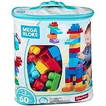 Mega Bloks - First Builders de 60 piezas con bolsa ecológica