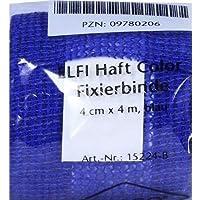 DRACOELFI haft color Fixierbinde 4mx4cm blau 1 St preisvergleich bei billige-tabletten.eu