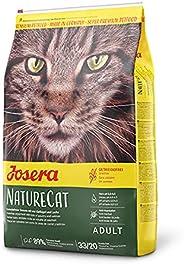 Josera Nature Cat Kattfoder, Kornfri, med Fjäderfän och Lax, 2 kg