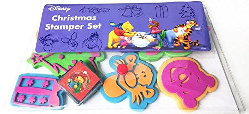 disney-winnie-the-pooh-8-foam-stamp-stamping-stamper-with-ink-pad-set-christmas-party-bag-stocking-f
