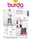 Burda 2506 Schnittmuster KostŸm Fasching Karneval Pirat Max & Moritz, Struwwelpeter (kids, Gr, 104 - 140) Level 1 super easy