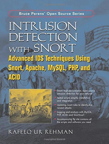 Intrusion Detection with SNORT: Advanced IDS Techniques Using SNORT, Apache, MySQL, PHP, and ACID by Rafeeq Ur Rehman (2003-05-18) par Rafeeq Ur Rehman