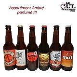 Assortiment bières ambrées