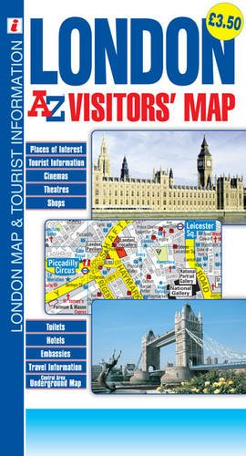 London: A-Z Visitors Map (Map A-z London)